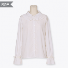 Pleatsfrill blouse