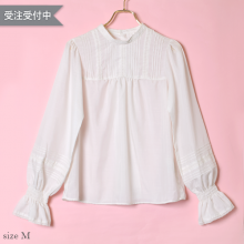 Back button blouse