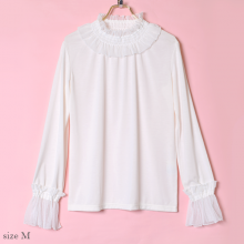 Tulle frill tops