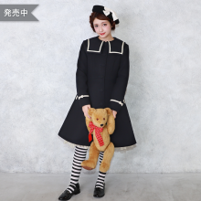 Sailor collar coat